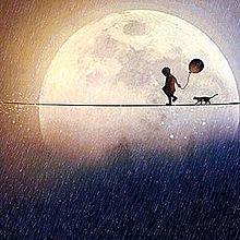 月 プリ画像