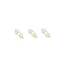 お団子和菓子食べ物ポエム素材アイコン刀剣乱舞の画像(ペア画 食べ物に関連した画像)