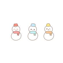 ゆきだるまポエム素材冬雪の画像(ポエム素材に関連した画像)