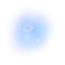 星空夜月惑星ポエム素材の画像(空に関連した画像)