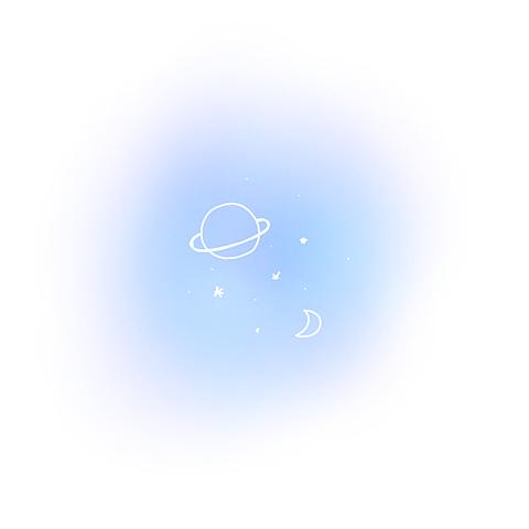 星空夜月惑星ポエム素材の画像(プリ画像)