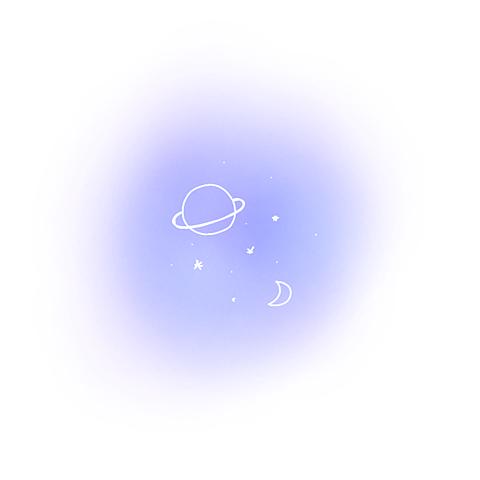 宇宙空星空惑星ナユタン星人月ポエム素材の画像 プリ画像