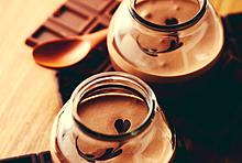 チョコレートムース プリ画像
