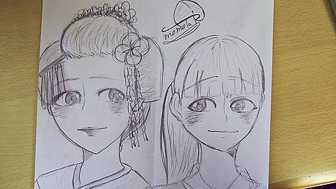 舞妓さんと女の子の画像 プリ画像