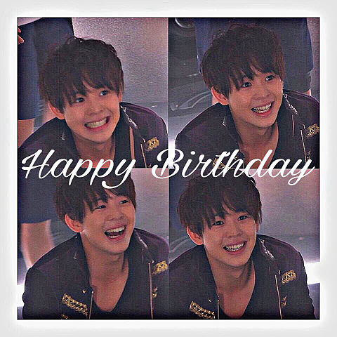 大ちゃん  Happy Birthday♥の画像(プリ画像)