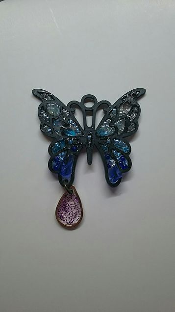 蝶々 レジンの画像(プリ画像)