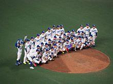 吉見さんの引退試合⚾️の画像(試合に関連した画像)