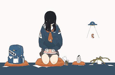 女の子🥺🥺の画像(プリ画像)