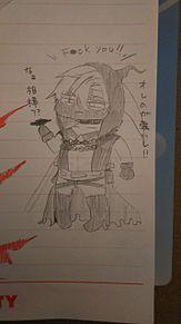 殺天コラボでザック描いた〜+嫉妬しちゃう13💕の画像(サーティーンに関連した画像)