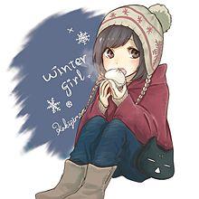 winter girl❄ プリ画像