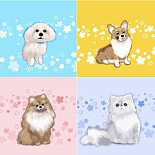 犬 猫 イラストの画像142点完全無料画像検索のプリ画像bygmo