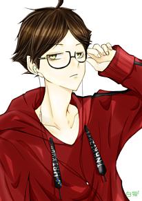 眼鏡男子(-□д□-)✧の画像(鏡に関連した画像)