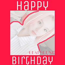Happy CHAEYOUNG Day プリ画像