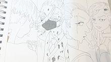 梵天 マイキー、春千夜、赤司武臣、ココを描きましたの画像(東京リベンジャーズに関連した画像)
