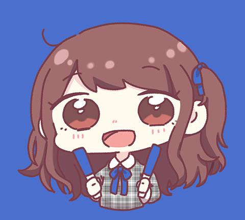 ふり〜あいこん ぶるーver.の画像 プリ画像