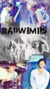 ライブショットの張り合わせRADWIMPS4人の壁紙