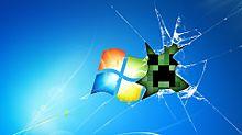 破れた画面の画像(PCに関連した画像)
