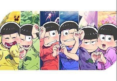 おそ松さん 六つ子のみんなー カワイイの画像(プリ画像)