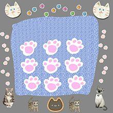 猫の手(肉球) まんじゅう 手作り画の画像(肉球に関連した画像)