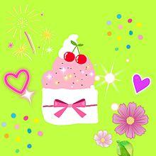 カップケーキ 手作り画の画像(カップケーキに関連した画像)