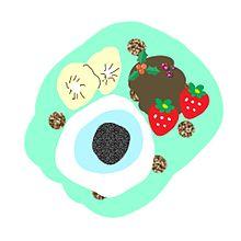手作り画 ゾンビの目玉ホットケーキの画像(ゾンビに関連した画像)