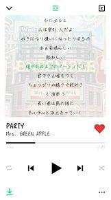 PARTY/Mrs. GREEN APPLEの画像(Greenに関連した画像)