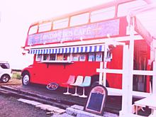 ロンドンバスカフェの画像(プリ画像)