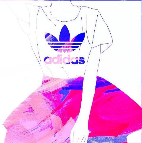 アディダス洋服の画像(プリ画像)