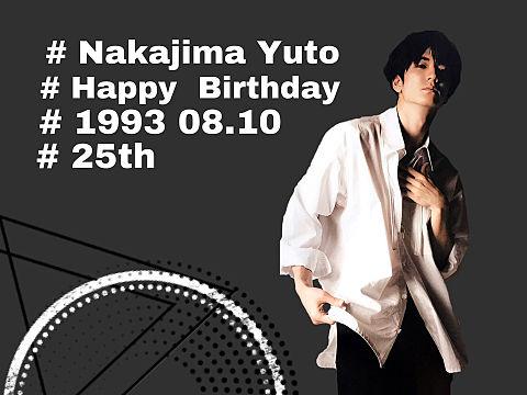 HAPPY BIRTHDAY  YUTOの画像(プリ画像)