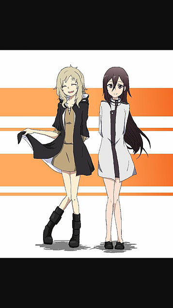キリコちゃん♥&カノコちゃん♥の画像(プリ画像)