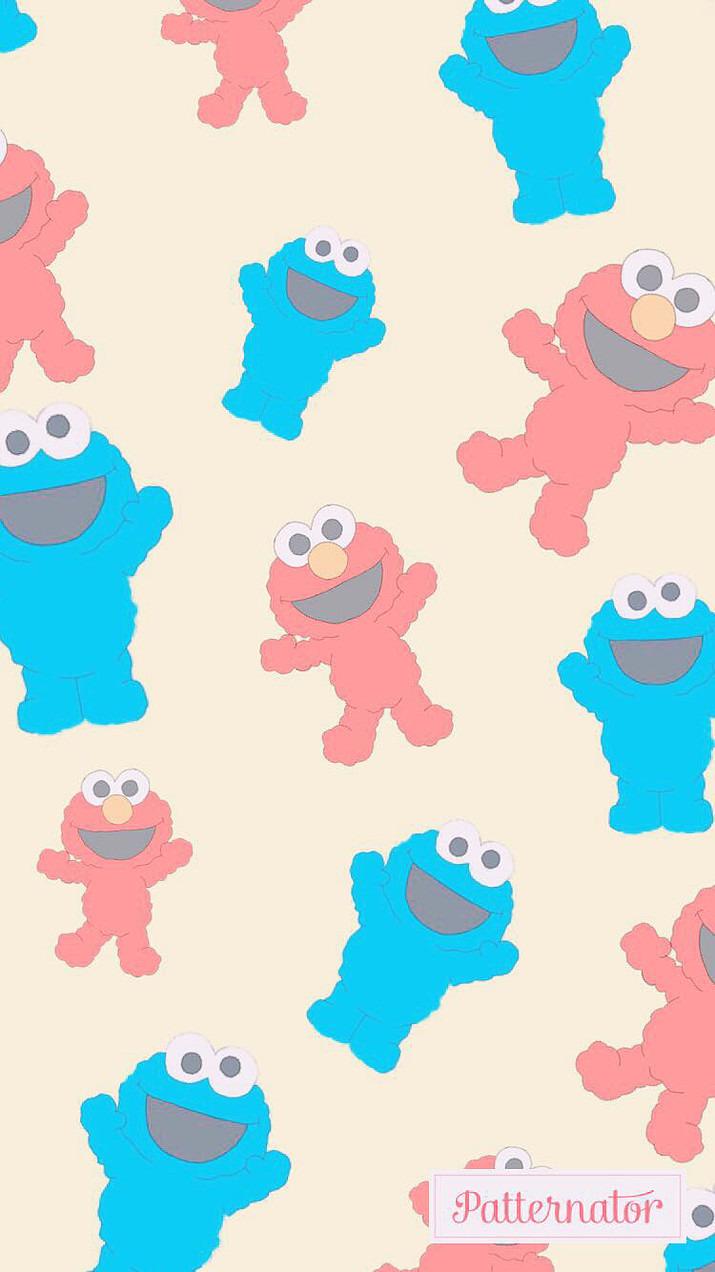 エルモ クッキーモンスター 壁紙 完全無料画像検索のプリ画像 Bygmo