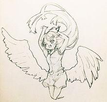 天使っぽい子の画像(年賀状に関連した画像)