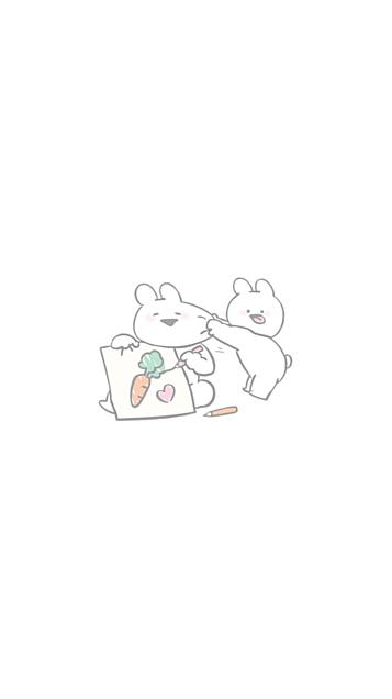 すこぶる動くうさぎ♡🐰の画像(プリ画像)