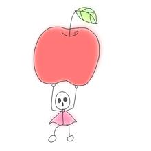 りんご重いの画像(重いに関連した画像)
