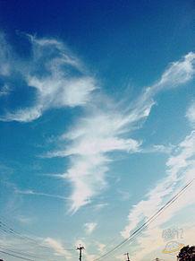 空 夕焼けの画像(プリ画像)