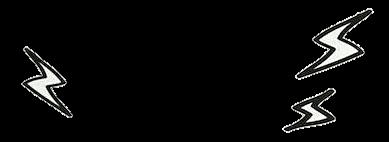 イナズマ 背景透過の画像(プリ画像)