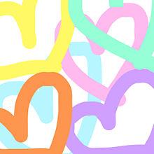 #ハート#ペア画#かわいい#オシャレ#背景#アイコン#友達の画像(ハートに関連した画像)