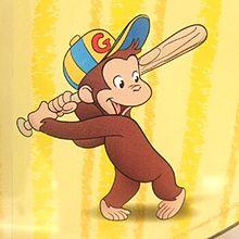 おさるのジョージの画像(おさるのジョージ 野球に関連した画像)