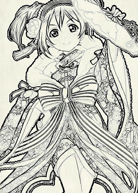 手描き矢澤にこの画像(プリ画像)