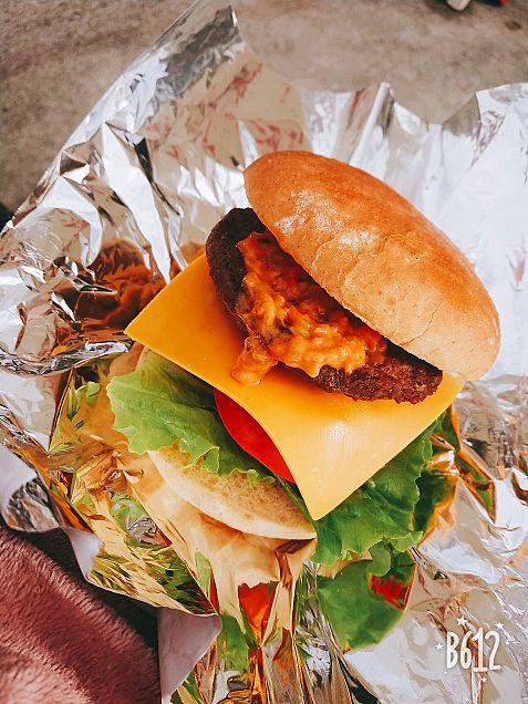 ハンバーガーの画像(プリ画像)