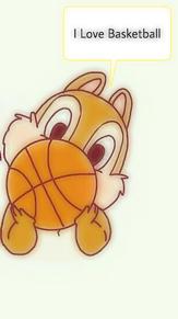 チップ&デール Basketball
