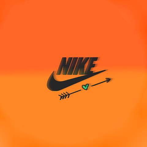 Nike(オレンジ)の画像 プリ画像