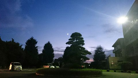 月が綺麗ッ✨の画像(プリ画像)