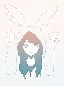 うさ耳フードちゃん~アイビス~の画像(プリ画像)