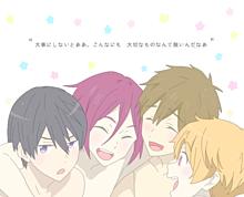 ¦  Free! × SEKAI NO OWARIの画像(プリ画像)