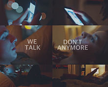 WE DON'T TALK ANYMORE プリ画像