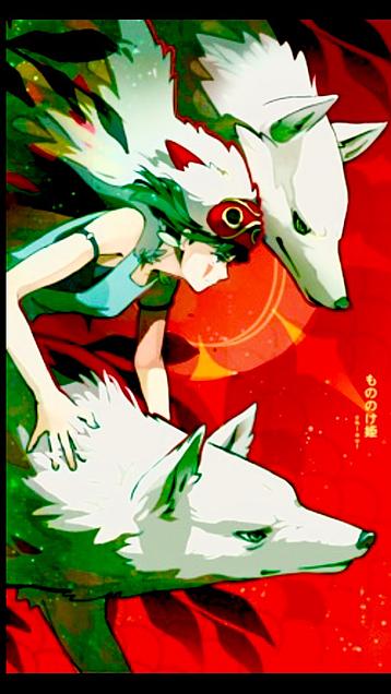 もののけ姫の画像(プリ画像)