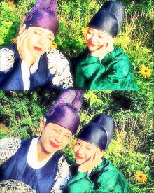 パク・ボゴム&キム・ユジョン💗の画像(ソヒョンに関連した画像)