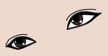 歌い手さん達の目元だけを描きました!の画像(luzに関連した画像)