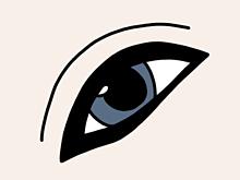 歌い手さん達の目元だけを描きました!の画像(目 だけに関連した画像)